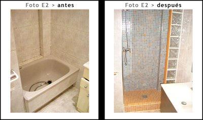 Cambiar ba era por ducha en su ba o - Como cambiar banera por ducha sin obra ...
