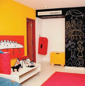 Pintura para habitación infantil
